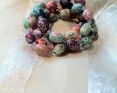 Darling Millefiori Easter Egg Bracelets