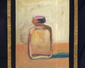 original oil painting,oil painting, Asprin Bottle