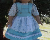 American Girl Doll Clothes - Swiss/Heidi Dress and Blouse