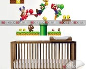 PEEL and STICK Removable Vinyl Kids Wall Decal Wall Sticker - Nintendo Super Mario
