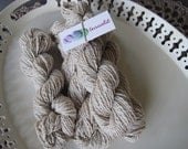 Naturally dyed -- 75 yds worsted organic cotton