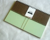 Zoe Book: Mixed Paper with Pale green cover