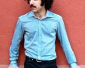 Gauzy Fabric Men Shirt MISTRAL