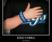 King Cobra Paracord Wristband