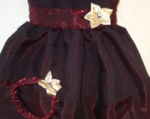 Toddler formal dress and headband
