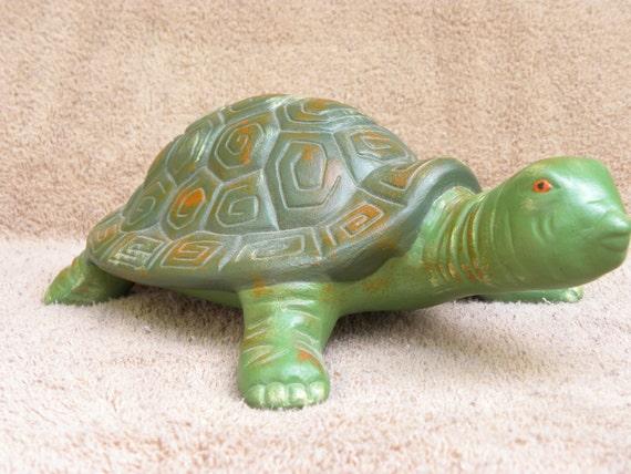 Ceramic Turtle hand created in Indiana, USA