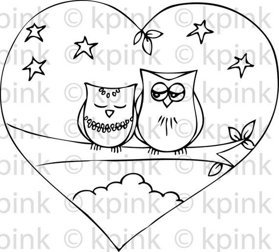 Owl Always Love You - I Dig Digi Stamp