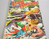 "Vintage The Atom and Hawkman Comic Book No. 42 ""When Gods Make Madness"", The Titan and the Fury, May 1969, DC Comics"