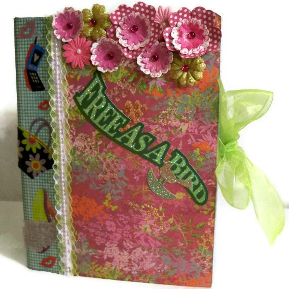 Items similar to Composition Book Altered Hard Cover