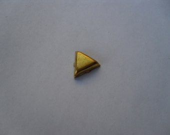 4 Vintage Brass Triangle Stamping
