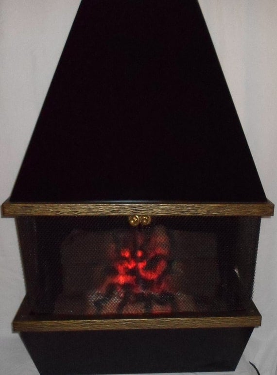 Vintage Retro Dyna Flame Motion Flame Wall Hanging Or Set On