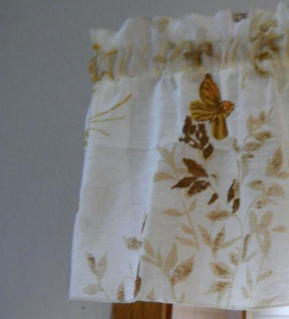 Kitchen Window Valance Brown Window By Thewelldressedwindow