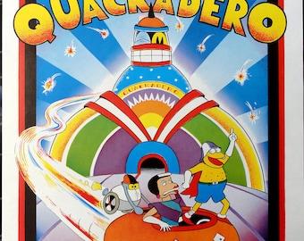 Quasi at the Quackadero poster