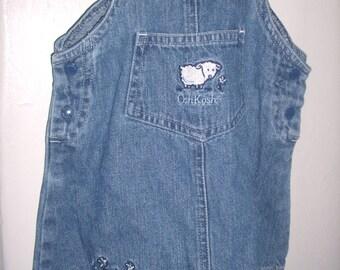 Vintage Oshkosh DENIM BABY DRESS