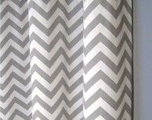 articles populaires correspondant rideau gris chevron sur etsy. Black Bedroom Furniture Sets. Home Design Ideas