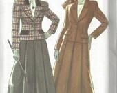 New Look 6155 - Vintage, UNCUT, OOP Misses' Jacket & Skirt Sewing Pattern - Sizes 8-18