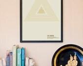 Ancient Artists: Sennit Knot Graphic Art Print - 11x17 inch Modern Art Poster