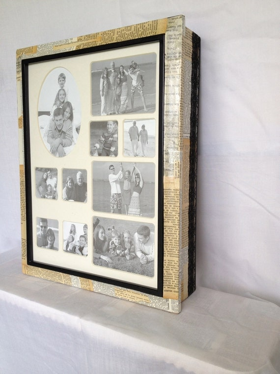 Decoupaged Framed Wall Hanging Jewelry Box by ...