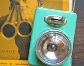 Christmas Sale - Vintage 1930s French pocket flashlight / bicycle lamp