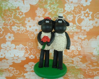 Customized Black Sheep Cake Topper