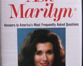 Ask Marilyn, Marilyn vos Savant, First Edition