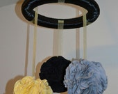 Nursery mobile - Custom made to order - gender neutral, any colors