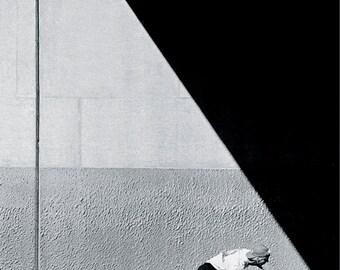 The Push Tod Swank 80s Skateboard Photo Print - Grant Brittain Skate Photographer -  11X14 and 18x24 Archival Skateboard Print