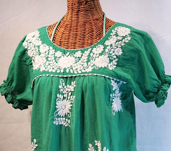 Mexican Ruffled Blouses 106