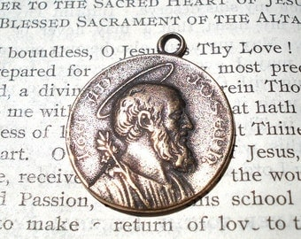 St. Joseph Medal - Bronze - Vintage Replica - Made in the USA (SM-690)