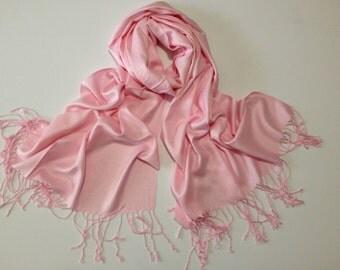 pale-pink pashmina scarf, pale-pink pashmina shawl, pale-pink fashion scarf, pashmina scarf, pashmina shawl, scarf, shawl
