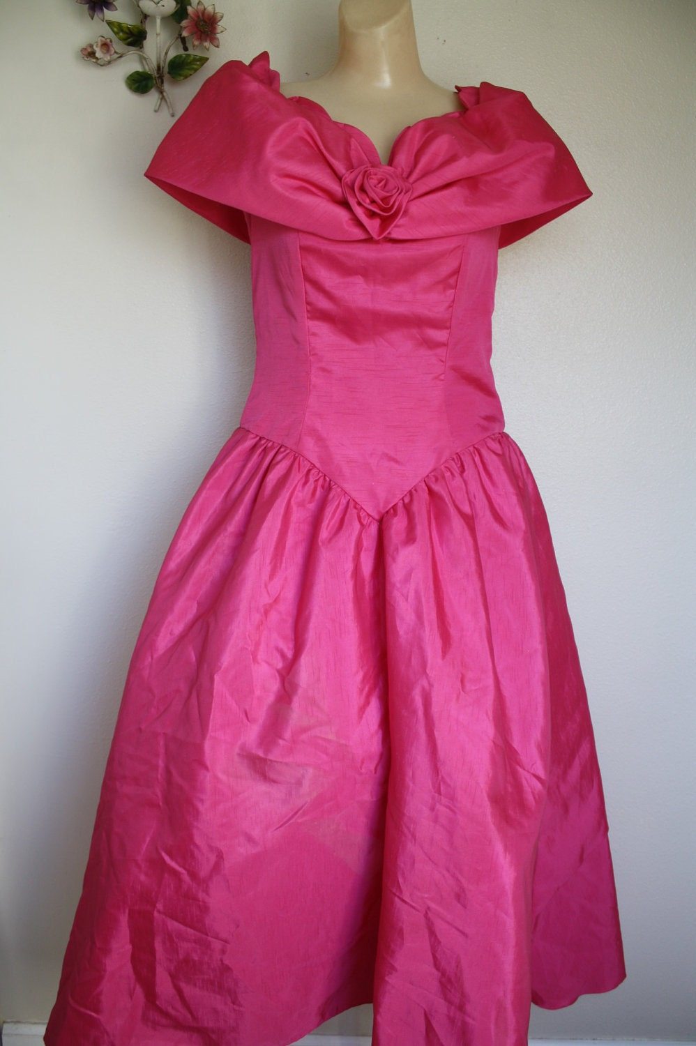 vintage 80's princess pink prom dress SOUTHERN BELLE | 998 x 1500 jpeg 159kB