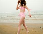 Audrey Tied Up High Waist Two-Piece Bikini