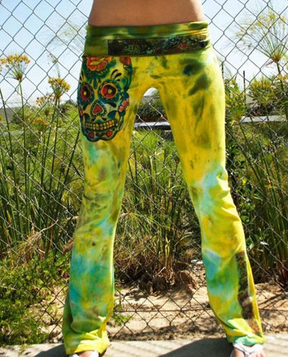 830 SKULLY ROO Custom Yoga Pants