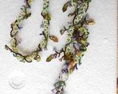 Floral Trellis Purple Garden
