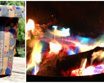 Fire Styler Changes the Color of Your Fire in a Firepit or Fireplace for Rainbow fire