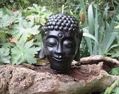 Buddha Candle - Black -  zen decoration