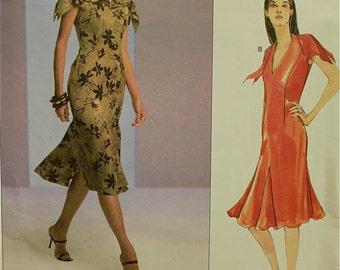 """Designer Dress Vogue Couture Pattern 2782   Uncut  Sizes 6-8-10  Bust  30.5-31.5-32.5"""""""