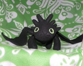 Toothless plush from How To Train Your Dragon