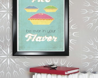 Fun Hunger Games Poster - May the Pies be ever in your Flavor