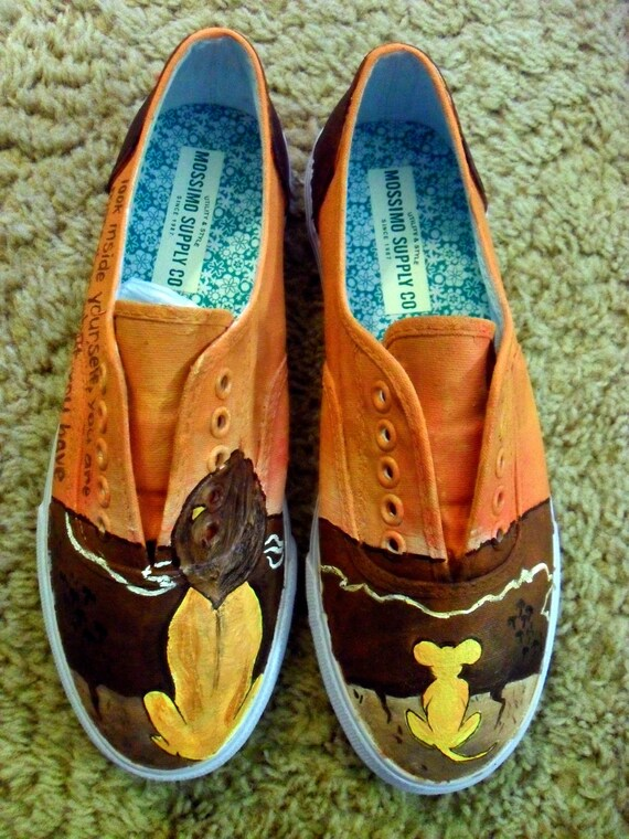 Lion King Inspired Shoes
