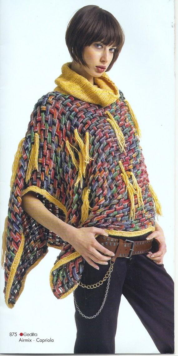 High Fashion Knitting : Gedifra moments high fashion knitting pattern magazine