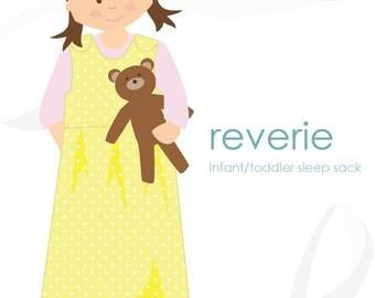 Sleep sack pattern: Reverie infant / toddler sleep sack PDF pattern