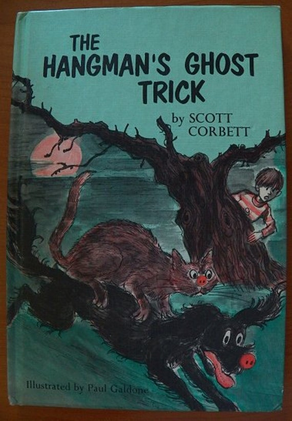 1977 Vintage Book..The Hangman's Ghost Trick...Weekly Reader Book...excellent