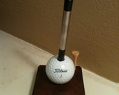 Golf Ball pen holder, Titleist