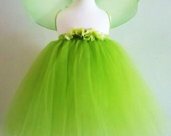 Baby Girls Tinkerbell Inspired Tutu Dress - Infant thu Girls 8