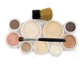 12pc MAKEUP KIT - Getting Started Set - Natural Vegan Mineral Makeup