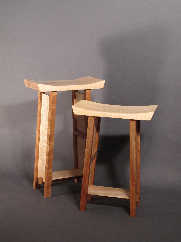 Counter Height Bar Stool Kitchen Stool Vanity Seat Handmade