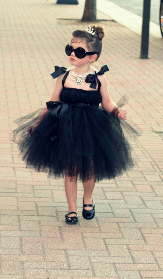 Little Black Tutu Dress by Atutudes as seen on Jessica