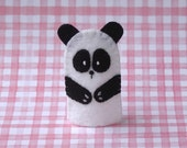 Sale of the Day - Panda Bear Finger Puppet - Felt Panda Puppet  Animal Finger Puppet - Zoo Animal - Asian Animal Puppet - Panda Bear Puppet