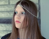 Fairy Angel Wings Head chain Headpiece Bobo Handmade in USA custom sized to your order